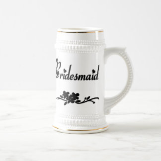 Classic Bridesmaid Beer Stein