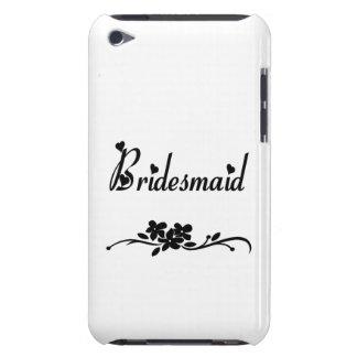 Classic Bridesmaid iPod Case-Mate Cases