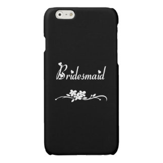 Classic Bridesmaid Glossy iPhone 6 Case