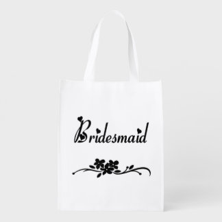 Classic Bridesmaid Grocery Bag