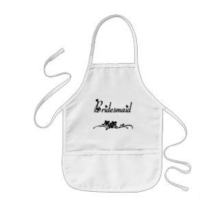 Classic Bridesmaid Kids' Apron
