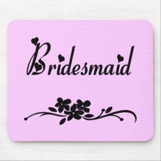 Classic Bridesmaid Mouse Pad