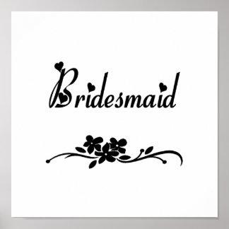 Classic Bridesmaid Print