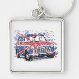 Classic British Mini Key Chains