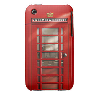 Classic British Red Telephone Box iPhone 3 Cover