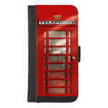 Classic British Red Telephone Box iPhone 8/7 Plus Wallet Case