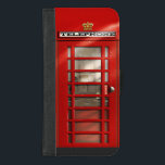 "Classic British Red Telephone Box iPhone 8/7 Plus Wallet Case<br><div class=""desc"">I gave my original design a new coat of paint! This classic icon of the British landscape has been well received by my customers receiving 5 star reviews in the past, so I really hope the new design proves to be as popular. In addition to the brighter red tone, as...</div>"