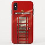 Classic British Red Telephone Box iPhone XS Max Case
