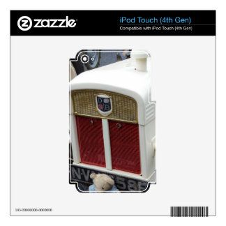 Classic British Tractor Decal For iPod Touch 4G