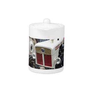 Classic British Tractor Teapot