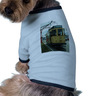 Classic British Tram. Doggie T Shirt