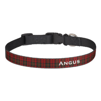 Classic Brodie Tartan Plaid Custom Dog Collar