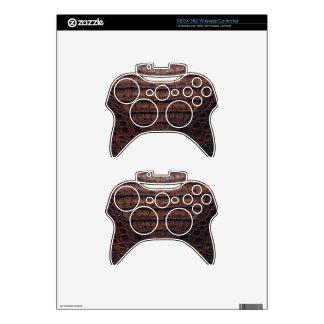Classic Brown Alligator Xbox 360 Controller Skins