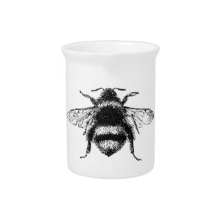 Classic Bumble Bee Beverage Pitchers