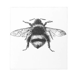 Classic Bumble Bee Notepad