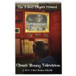 Classic Bunny Television 2011 Calendar