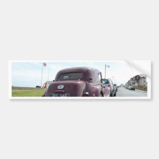 Classic Burgundy Citroen Bumper Sticker