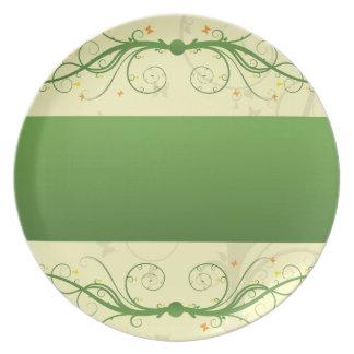 Classic Butterflies Dinner Plate