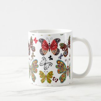 Classic Butterfly Mug
