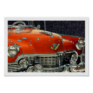 'Classic Caddy' Poster