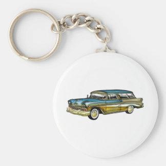 Classic Cadillac 2 Door Hard Top Keychain