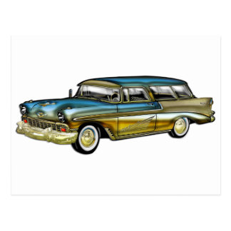 Classic Cadillac 2 Door Hard Top Postcard