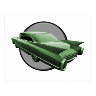 Classic Cadillac Postcard