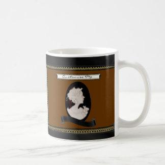 Classic Cameo (Ivory/Brown) Coffee Mug