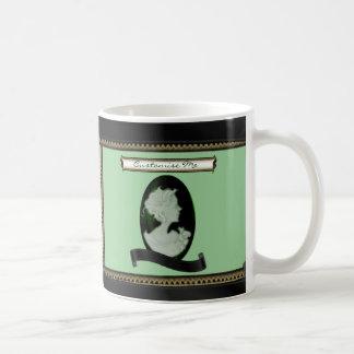 Classic Cameo (Jade/Green) Coffee Mug