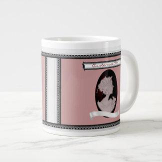 Classic Cameo (Rose) Giant Coffee Mug