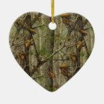 Classic Camouflage Ceramic Ornament