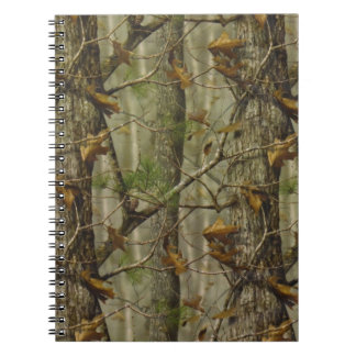 Classic Camouflage Spiral Notebooks