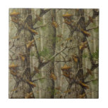 Classic Camouflage Small Square Tile