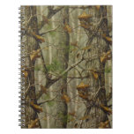 Classic Camouflage Spiral Note Books