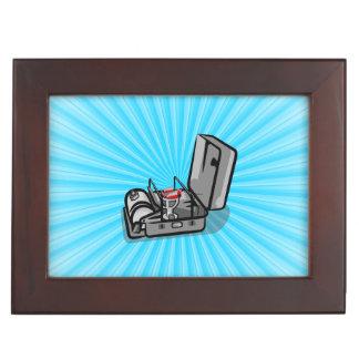 Classic  Camp Stove in a Tin Memory Box