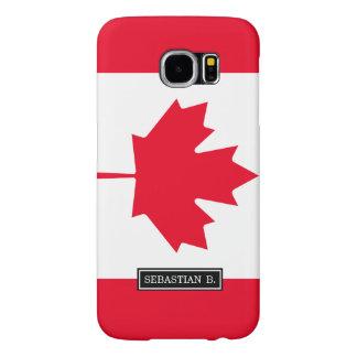 Classic Canada Flag Samsung Galaxy S6 Case
