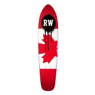 Classic Canada Flag Skateboard Deck