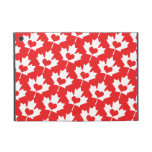 Classic Canadian Flag Maple Leaf with Heart Covers For iPad Mini