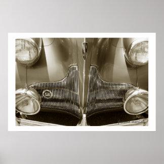 Classic Car 129 Poster Print