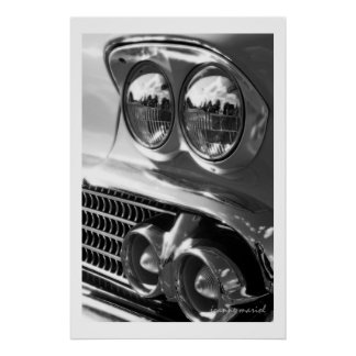 Classic Car 12 Poster Print