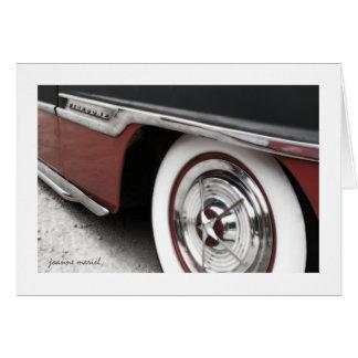 Classic Car 15 Greeting Card