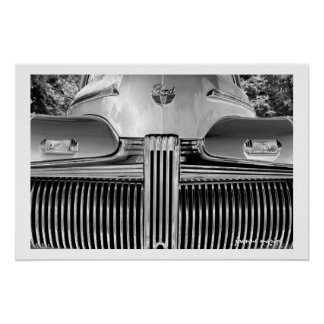 Classic Car 17 Poster Print
