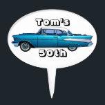 """Classic car 1957 Chevy BelAire custom cakepick<br><div class=""""desc"""">classic car design</div>"""