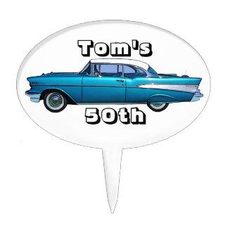 Classic car 1957 Chevy BelAire custom cakepick
