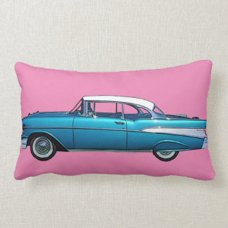 Classic car 1957 Chevy BelAire custom pillow