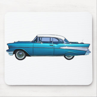 Classic car 1957 Chevy BelAire Mouse Pad