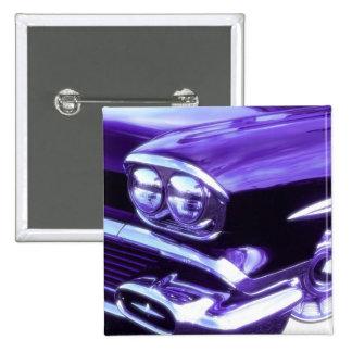 Classic car: 1958 Chevrolet Pinback Button