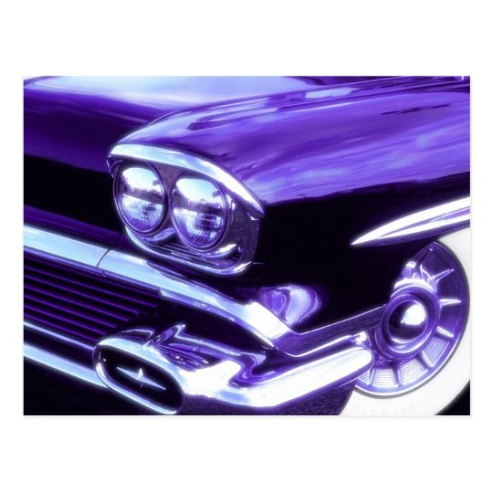 Classic car: 1958 Chevrolet Postcard