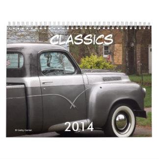 Classic Car 2014 Calendar