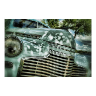 Classic Car 218 Poster Print